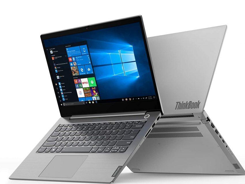 Lenovo ThinkBook 14 Intel Core i5 10th Gen 14-inch Full HD IPS Thin and Light Laptop (8GB RAM/ 512GB SSD/ Windows 10 Professional/ Mineral Gray/ 1.5 kg), 20RV00BMIH
