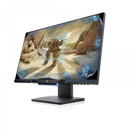 """OMEN 25MX 24.5"""" 1920X1080 TN 144HZ 1MS FREESYNC 2 WIDESCREEN LED BACKLIT GAMING MONITOR Specification. Display size 62.23 cm (24.5"""") Aspect ratio 16:9 Display type TN with LED backlight Pixel pitch 0.283 mm Response time 1 ms gray to gray Brightness 400 cd/m2 Contrast ratio 1000:1 static; 12000000:1 dynamic Viewing angle 160° vertical; 170° horizontal Product color Black Resolution FHD (1920 x 1080 @ 60 Hz) Resolutions supported 1024 x 768; 1152 x 864; 1280 x 1024; 1280 x 720; 1280 x 800; 1440 x 900; 1680 x 1050; 1920 x 1080; 640 x 480; 720 x 400; 800 x 600 Display scan frequency (horizontal) Up to 167 kHz Display scan frequency (vertical) Up to 144 Hz Display features Anti-glare; Language selection; LED backlights; On-screen controls; Pivot rotation; User programmable; AMD FreeSyncTM; Height adjustable Display Input Type 1 DisplayPortTM 1.2 (with HDCP support); 1 HDMI 2.0 (with HDCP support) Physical security features Security lock-ready Display moving angle Pivot rotation: 90°; Swivel: ±360°; Tilt: -4 to +20° Environmental specifications Arsenic-free display glass; Mercury-free display backlights Energy efficiency price ksh 34000/="""